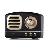 HIFI Mini Retro Wireless Bluetooth Altoparlante portatile FM Radio TF Card U disco da 3,5 mm Altoparlante audio con microfono