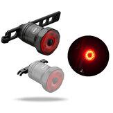 TWOOC 6-Modes ذكي USB شحن دراجة الفرامل ضوء اللاسلكية ضد للماء مصباح الفرامل دورة ضبط حقيبة دراجة