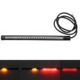 Waterproof Flexible 48SMD Motorcycle Light Bar LED Brake Light Turn Signal Lamp