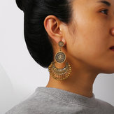 Retro Bronze Tassels Earring