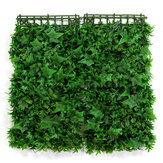 4Pcs Anti UV Artificial Hedge Mat Board Ivy Bushes Background Fence Wall Decor