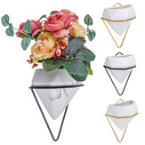 Marble Pattern Wall-Mounted Flower Pots Creative Hanging Plant Flower Pot
