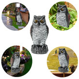 Fake Standing Owl Bird Hunting Shooting Decoy Afschrikmiddel Repeller Garden Scarer