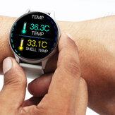 [Monitor della temperatura] Bakeey K21 Schermo full-touch da 1,3 pollici Cuore Monitoraggio della pressione sanguigna Monitor dell'ossigeno Controllo della luminosità Smart Watch