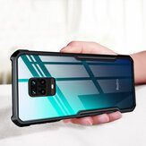 Bakeey pour Xiaomi Redmi Note 9S Case Armor Bumper Edge Anti-fall Transparent Soft Etui de protection en TPU pour Xiaomi Redmi Note 9 Pro / Xiaomi Redmi Note 9 Pro Max Non original