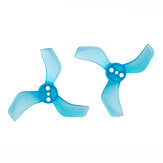 4 Pairs Gemfan 1635 1.6x3.5x3 40mm 1.5mm Hole 3-blade Propeller for 1103 1105 RC Drone FPV Racing Brushless Motor