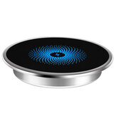 New Creative Wireless Charger 15W Fast Charge Office Furniture Desktop embedded mobile phone wireless charger Suitable for Any Desk