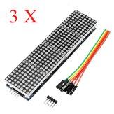 3Pcs MAX7219 Tela de exibição 4 em 1 do módulo Matrix Dot Geekcreit para Arduino - produtos que funcionam com placas Arduino oficiais