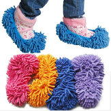 Multifunction Dust Floor Cleaning Mop Slipper Shoes Cover