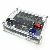 Kit de production de mesure de compteur de fréquence haute précision AVR bricolage 0.45HZ-10MHZ avec coque