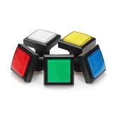 44x44mm Blu Rosso Bianco Giallo Verde luce a led Pulsante per console di gioco Arcade DIY