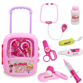 Kids Pretending Doctor's Playing Set Case Education Kit Boys Girls Toys