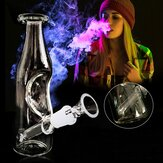 7inch Collectible Glass Water Pipe Bubbler Hookah + Smoking Bowl Milk Jug