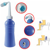 400ml LEKANG Portable ABS Manual Operation Bidet For Man Women Kids Cleaning Device