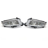 2Pcs LED Daytime Running Fog Lights Lamps DRL 6500K For Hyundai IX45 Santa Fe 2013-2015