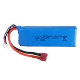 Wltoys 7.4V 2200mAh 20C 2S T Plug Lipo البطارية لـ 124018 124019 144001 10428 10428A / B / C / A2 / B2/C2 K949 Rc Car