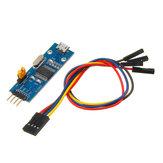 PL2303 USB-UART TTL-конвертер Мини-плата LED TXD RXD PWR 3.3V / 5V Выходной последовательный модуль