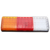 4Pcs 75 LED Trailer Tail Light Brake Reverse Lamp Truck Ute Boat Caravan RV IP64
