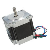 DC 24V Nema 23 Stepper Motor Single Shaft 12.6Kg.cm 1.8 Degre 4 Leads 56mm 4 Channel Stepper Motor