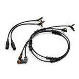 4Pcs Set ABS Capteur de vitesse de roue arrière avant pour Mercedes W164 GL ML320 ML350 1645400717 1645400917