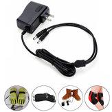 1.2A 220V 7.4V 2In1 lithium batterij oplader stekker voor elektrische handschoenen / schoenen / sokken