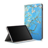 Folio Stand Tablet Case Cover for Samsung Galaxy Tab S5E 10.5 SM-T720 SM-T725 - Apricot blossom