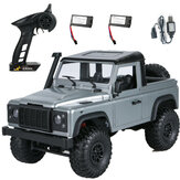 MN99s A RTR Model with 2/3 Batteries 1/12 2.4G 4WD RC Car for Land Rover Vehicles Indoor Toys