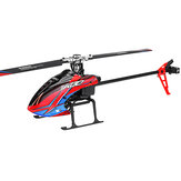 XK K130 2.4G 6CH Borstelloze 3D6G Systeem Flybarless RC Helicopter BNF Compatibel met FUTABA 'S-FHSS