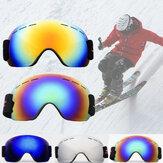Kacamata Ski Dewasa Lensa Anti Kabut Kacamata Ski UV Kacamata Ski Salju Melindungi Alat Tahan Angin