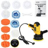 110V-130V 600W Car Polisher Buffer Sander Polishing Machine Kit Buffing Pad Wax Bonnet