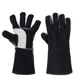 Welding Glove Cow Leather Cowhide Extreme Heat &Fire Resistant  Stitching
