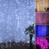 200LED USB Remote Curtain Lights Decor RC Fairy Window Lamp Colorful New Year