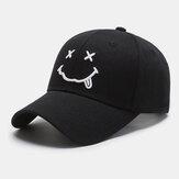للجنسين القطن ابتسامة الكرتون الوجه عارضة لطيف قبعة أبي الشاب بلغت ذروتها قبعة بيسبول قبعة