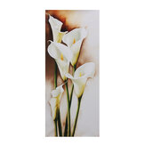 Three Size Canvas Decorative Painting Lily Hanging Painting no Frame Home Office Wall Creative GIfts Supplies