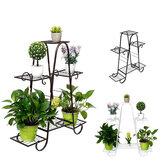 Supporto per fiori multistrato Scaffali per piante Balcone Soggiorno Interno Decorazione moderna Scaffale per pavimento