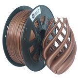 CCTREE® 1.75mm 1KG / rolka metalowa z brązem / wypełniona miedzią filament do drukarki Creality CR-10 / Ender 3/Anet 3D