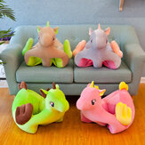 Child Seat Chair Cover Cute Animals Baby Sofa Cover Kids Soft Crystal Fleece