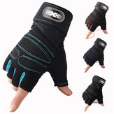 Motorcycle Riding Cycling Idoneità Mezza Finger Protective Guanti Outdoor Anti-skid