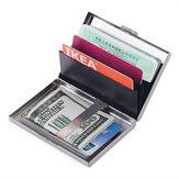 Titular do cartão de crédito do banco de metal Anti-Proteger ID de viagem Titular do cartão masculino carteira de metal Caso Cartão de visita Caixa Suprimentos para presentes