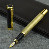 Luoshi 598 Classic Writing Fountain Pen Metal Dragon Clip For Business Office School