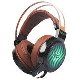 C13 Gaming Headphone 3.5mm cablato con regolabile basso pesante oltre Orecchio Auricolare Auricolare con microfono