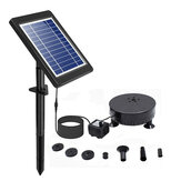 Solar Powered Water Pond Filter Pump Home Garden Submersible Fish Tank Super Power Fountain Water Pump