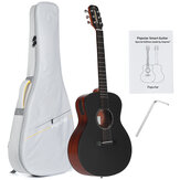 Poputar T1 36 Inch LED Smart Guitar Guitare App BT5.0 Spruce Mahogany Acoustic Guitar Guitarra Musical Instruments With Bag