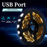 0.5m/1m/2m/3m USB LED Lamp 2835 SMD Light Bar Hotel TV Backlight String Light Waterproof