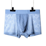 Seamless Light Thin Ice Silk Cool Quick Dry Boxer Briefs for