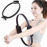 Pelatihan Grip Ganda Yoga Pilates Ring Muscle Training Yoga Circle Body Shaping Alat Latihan Kebugaran