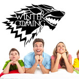 Game of Thrones House Stark Wolf Vinyl Sticker Decal HBO L'hiver arrive