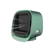 Aire Acondicionado Portátil de escritorio Acondicionador USB Mini ventilador de enfriamiento de aire Tres modos 300 ml Capacidad de agua para el hogar de la oficina