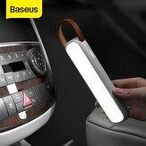 Baseus lumière de secours de voiture solaire Rechargeable LED lampe de lecture intérieure automatique veilleuse portable lampe de Signal de voiture magnétique