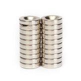 100pcs N50 12x3mm Countersink Ring Magnets 4mm Hole Rare Earth Neodymium Magnet